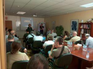 JCRMO: Reunión de seguimiento del Proyecto europeo DIANA
