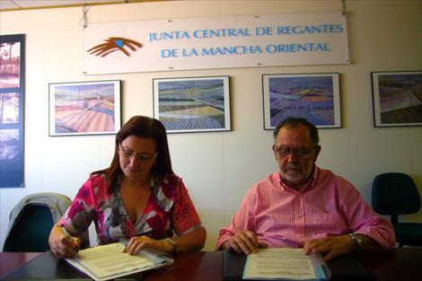 La Confederación del Júcar y la Junta Central de Regantes renuevan su colaboración