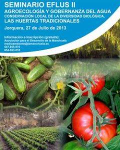 Se celebra en jorquera el Seminario EFLUS II de agroecología y gobernanza del agua
